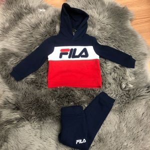 Fila   Boys' Track Suit   Sweater   Pants